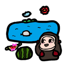 BABU series NO.32 WATERMELON sticker #158342
