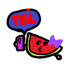 BABU series NO.32 WATERMELON sticker #158347