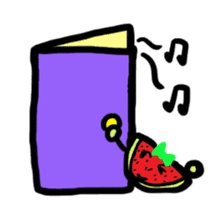 BABU series NO.32 WATERMELON sticker #158349