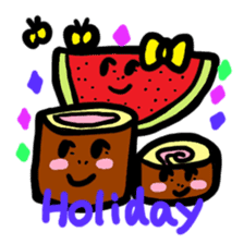 BABU series NO.32 WATERMELON sticker #158352