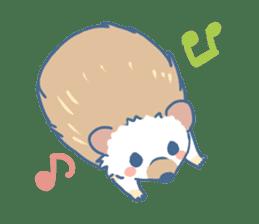 Hedgehog&Squirrel sticker #158782