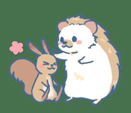 Hedgehog&Squirrel sticker #158784