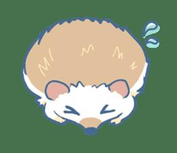 Hedgehog&Squirrel sticker #158785