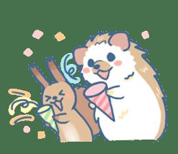 Hedgehog&Squirrel sticker #158788