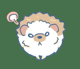 Hedgehog&Squirrel sticker #158797