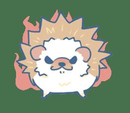 Hedgehog&Squirrel sticker #158798