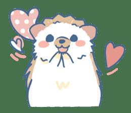 Hedgehog&Squirrel sticker #158799