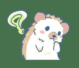 Hedgehog&Squirrel sticker #158802