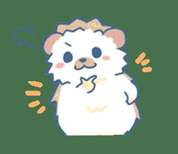 Hedgehog&Squirrel sticker #158818