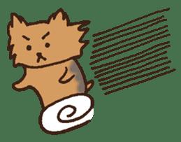 Betty & Kinako's happy life sticker #158945