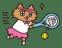 Betty & Kinako's happy life sticker #158948