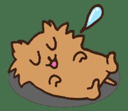 Betty & Kinako's happy life sticker #158951