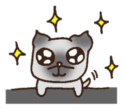 Betty & Kinako's happy life sticker #158955