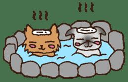 Betty & Kinako's happy life sticker #158957