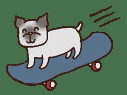 Betty & Kinako's happy life sticker #158958