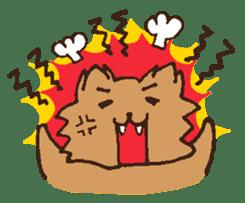Betty & Kinako's happy life sticker #158964