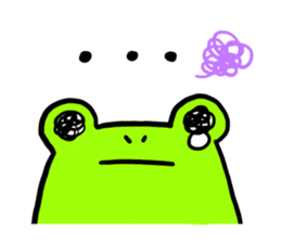 Ru of a frog sticker #159304