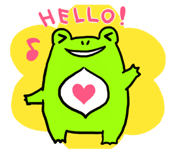 Ru of a frog sticker #159307