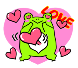 Ru of a frog sticker #159314