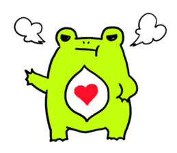 Ru of a frog sticker #159316