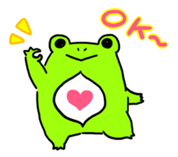 Ru of a frog sticker #159317