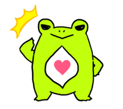 Ru of a frog sticker #159320