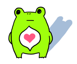 Ru of a frog sticker #159322