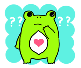 Ru of a frog sticker #159332
