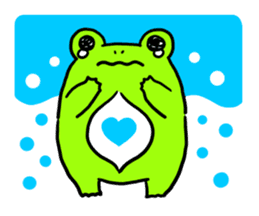 Ru of a frog sticker #159334
