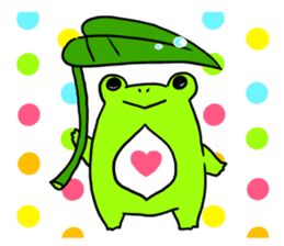 Ru of a frog sticker #159336