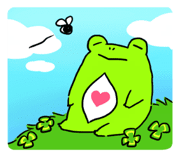 Ru of a frog sticker #159337