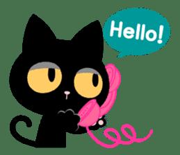 James of Black Cat sticker #159575