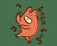 mokumokuchan sticker #159795
