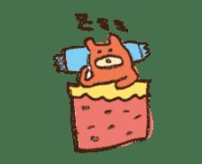 mokumokuchan sticker #159809