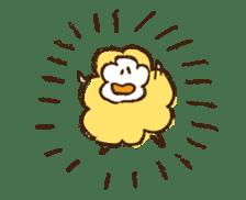 mokumokuchan sticker #159818