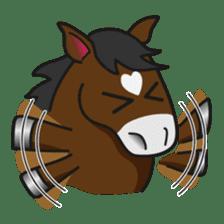 No choice I like I like horse sticker #159826