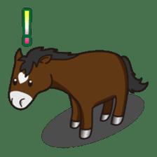 No choice I like I like horse sticker #159829
