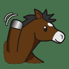 No choice I like I like horse sticker #159833
