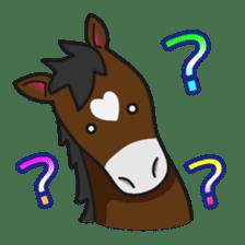 No choice I like I like horse sticker #159835