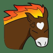 No choice I like I like horse sticker #159844