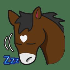 No choice I like I like horse sticker #159846