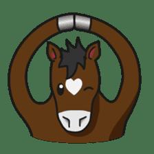 No choice I like I like horse sticker #159847