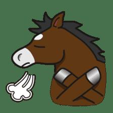 No choice I like I like horse sticker #159848