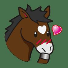 No choice I like I like horse sticker #159849