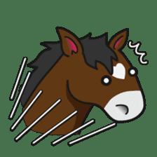 No choice I like I like horse sticker #159853