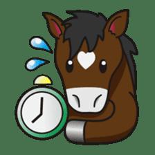 No choice I like I like horse sticker #159856
