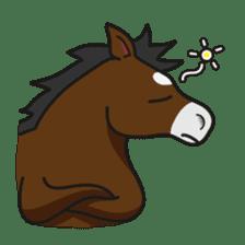 No choice I like I like horse sticker #159857