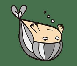 "Child fish ""Puri"" sticker #160252"