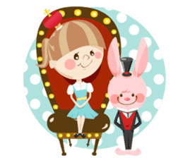 Liruu's Adventures in Wonderland sticker #160380