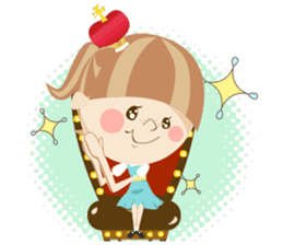 Liruu's Adventures in Wonderland sticker #160384